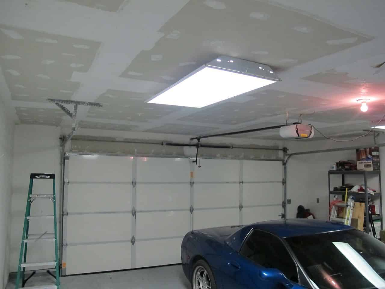 Garage Makeover Bringing Down The Popcorn Ceiling