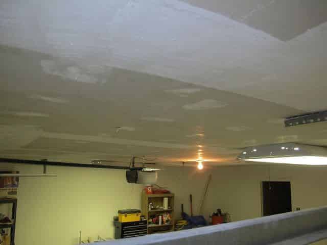 Ceiling after hours of scraping #2