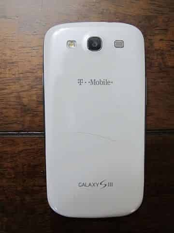 Cracked Samsung Galaxy S3 Cover