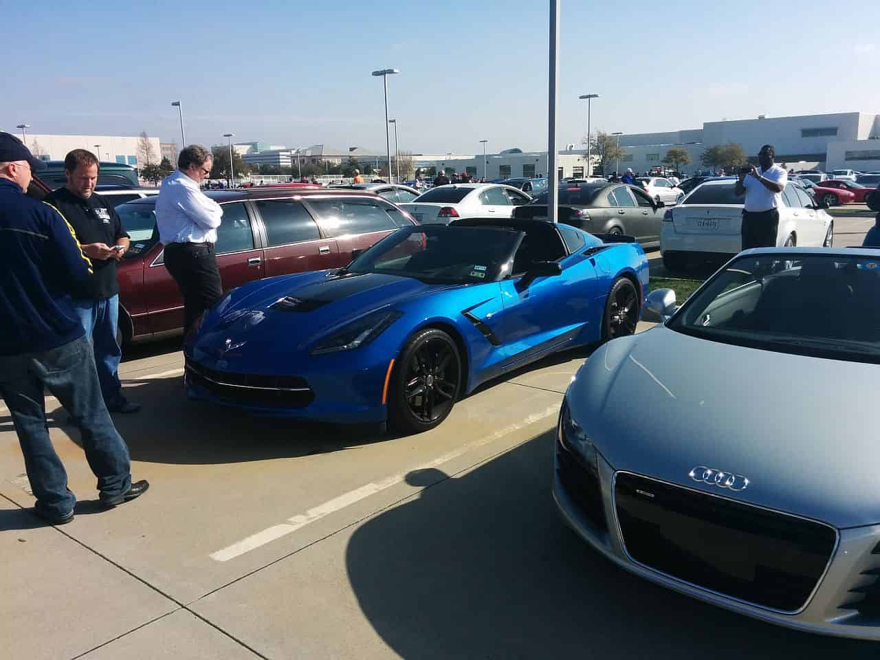 C7 Corvette Stingray - Blue