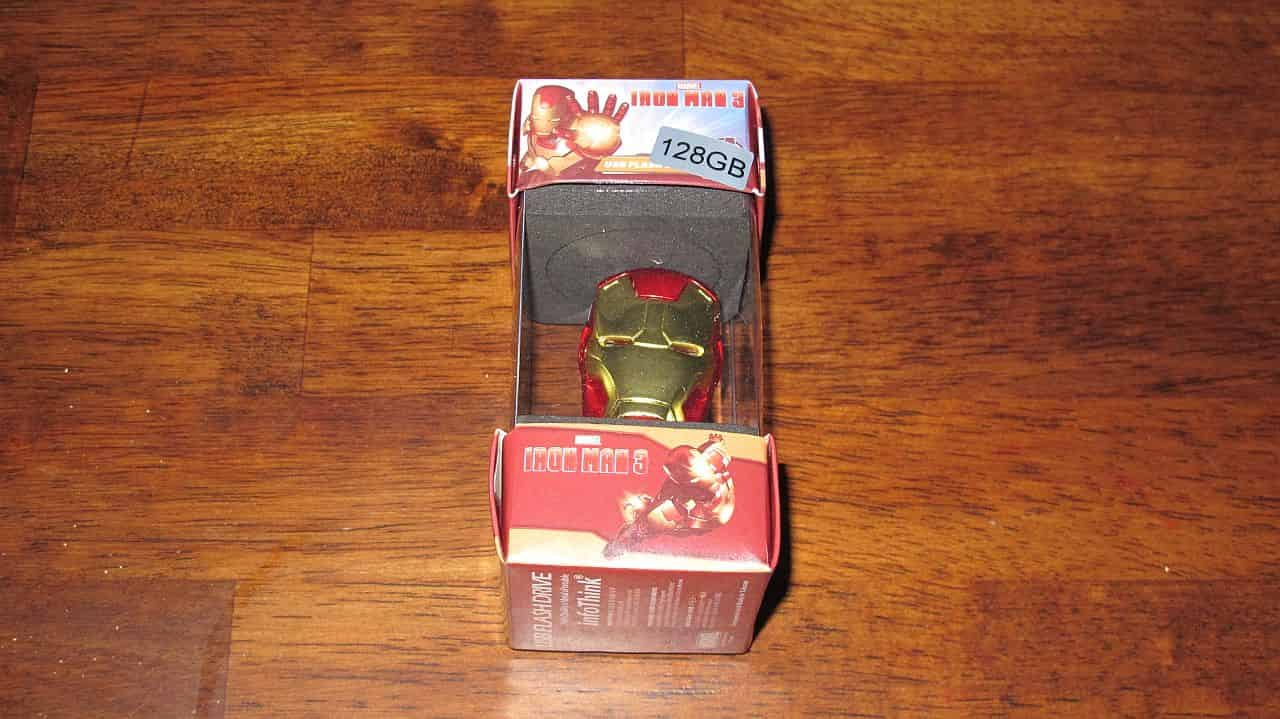 Iron Man 128 GB USB Drive
