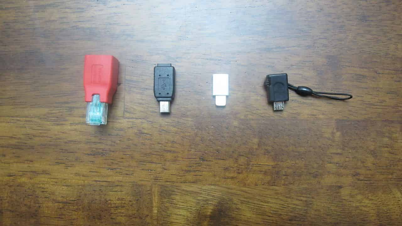 Various USB and Network Adapters