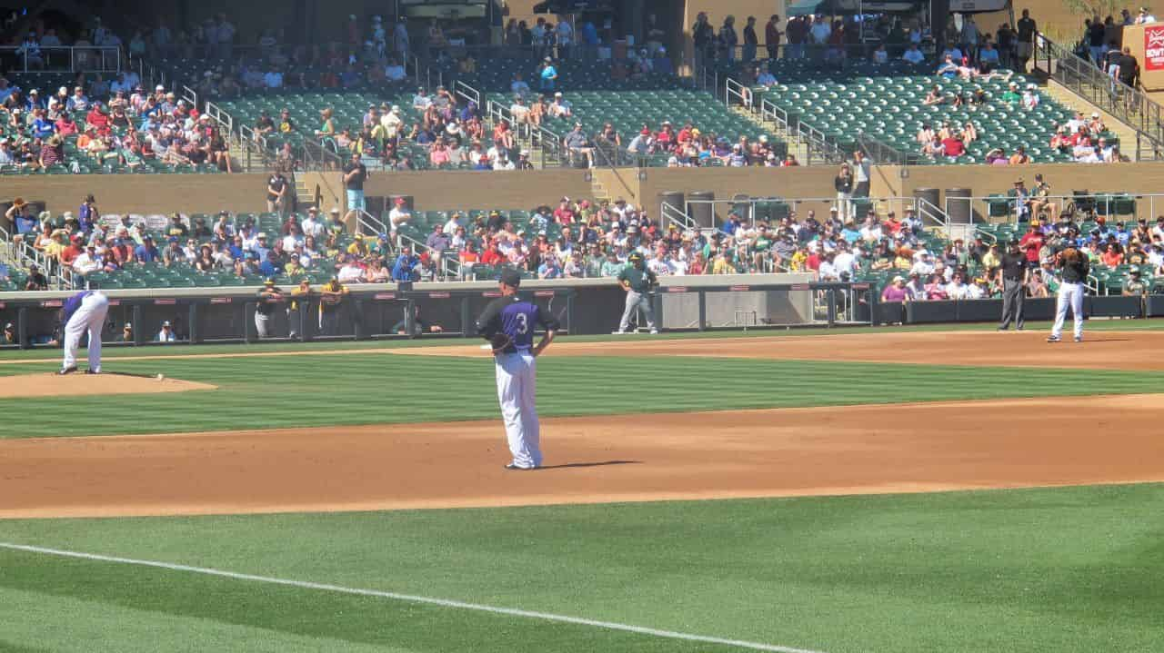 Athletics vs. Rockies #25
