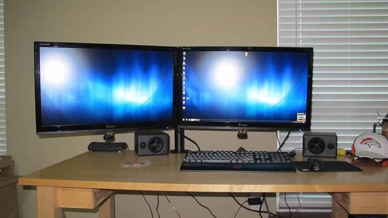 My New Dual-Monitor Setup
