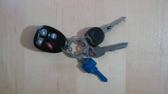 My 'performance' keychain, with lightweight key!