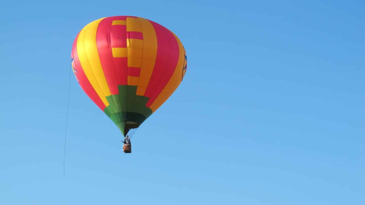 Yellow Rose Balloon Launched