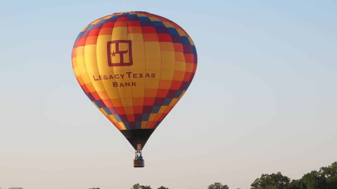 Legacy Texas Bank Balloon Launches