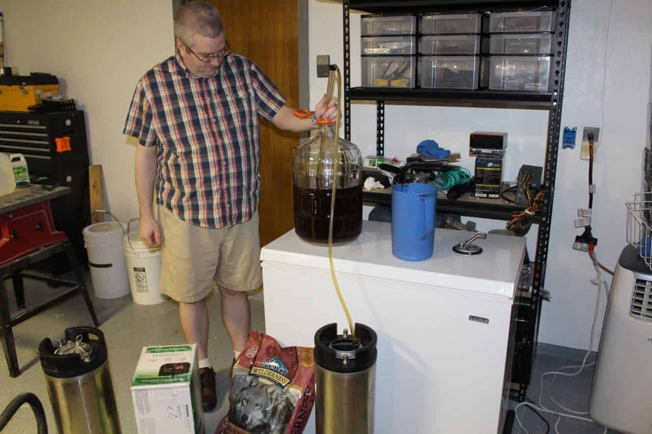 More siphon action