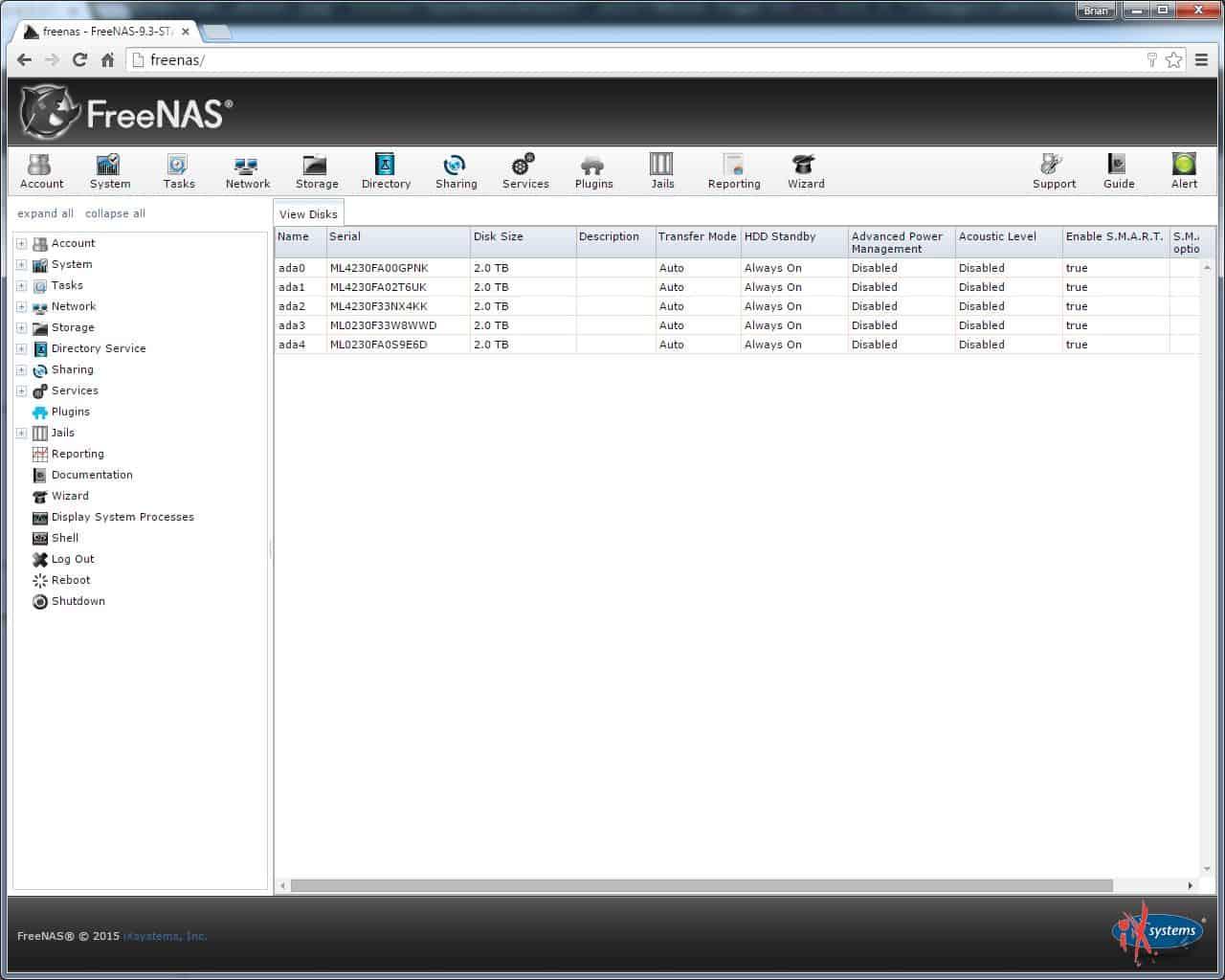 DIY NAS Software Roundup - briancmoses com