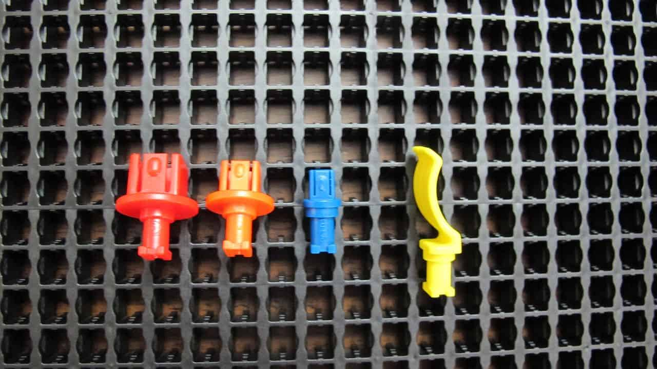 Toolgrid, socket pegs and tool pegs