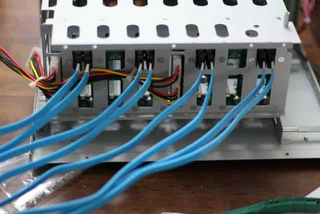 SATA Cable Installation and management #1
