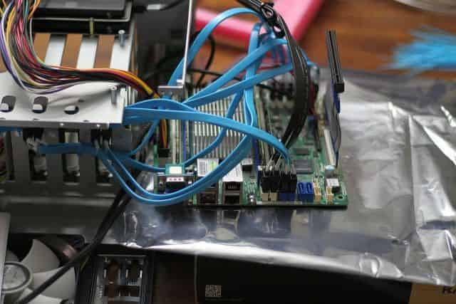 SATA Cable Installation and management #4