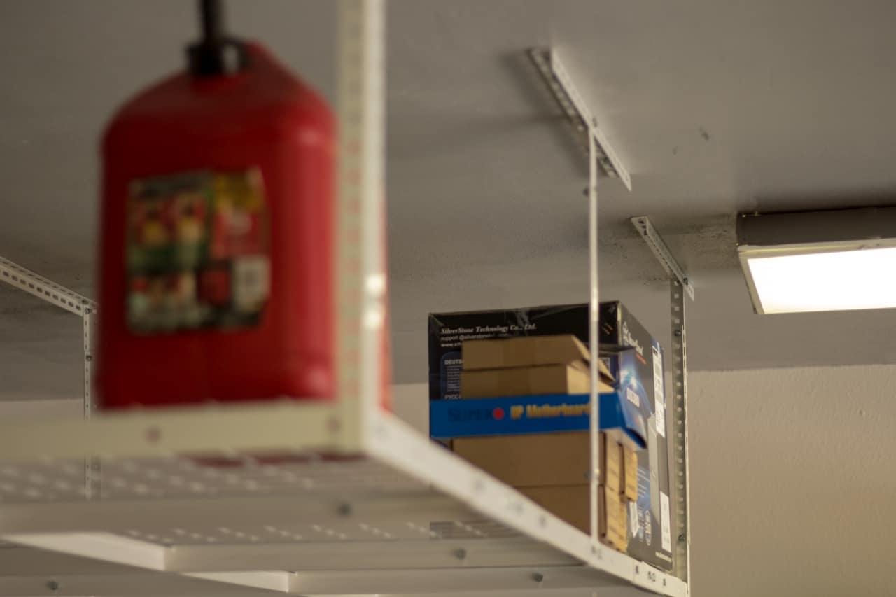 Garage Makeover Fleximounts Overhead Garage Rack Briancmoses Com