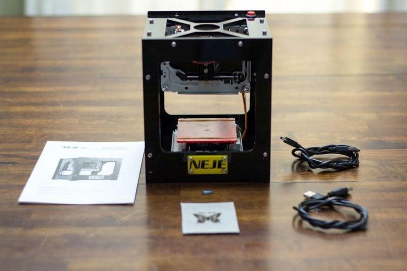 Image result for NEJE Laser engraver machine gif