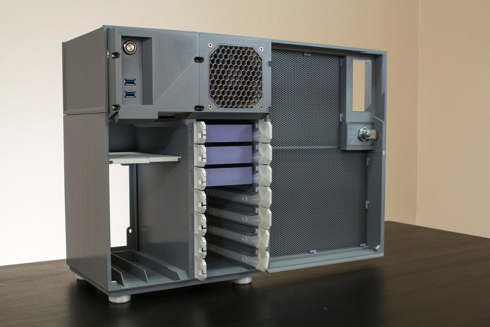 What About a 3D-Printed Mini-ITX NAS Case?