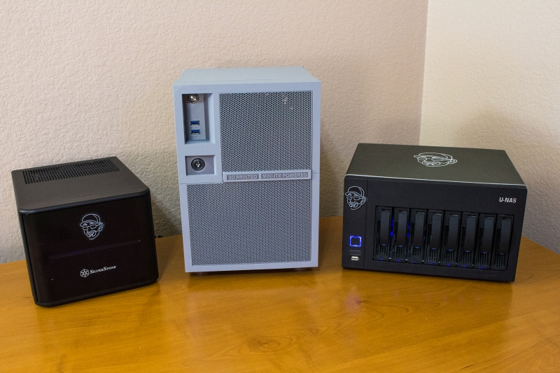Some of Brian's NAS builds