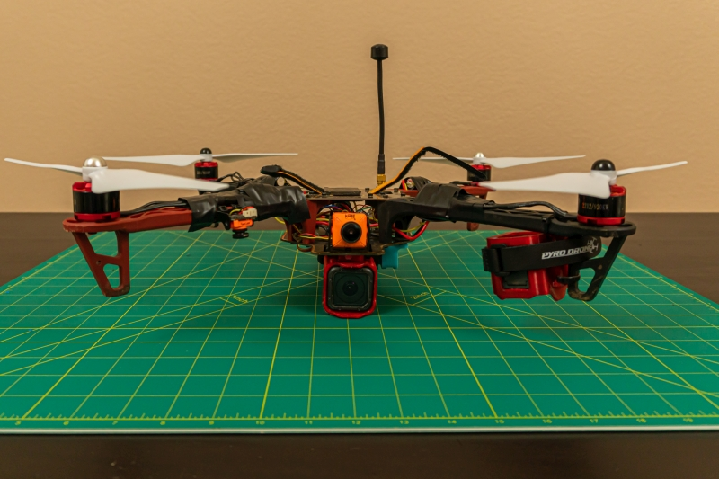 Turning My Very First Quadcopter Into Frankenbomber