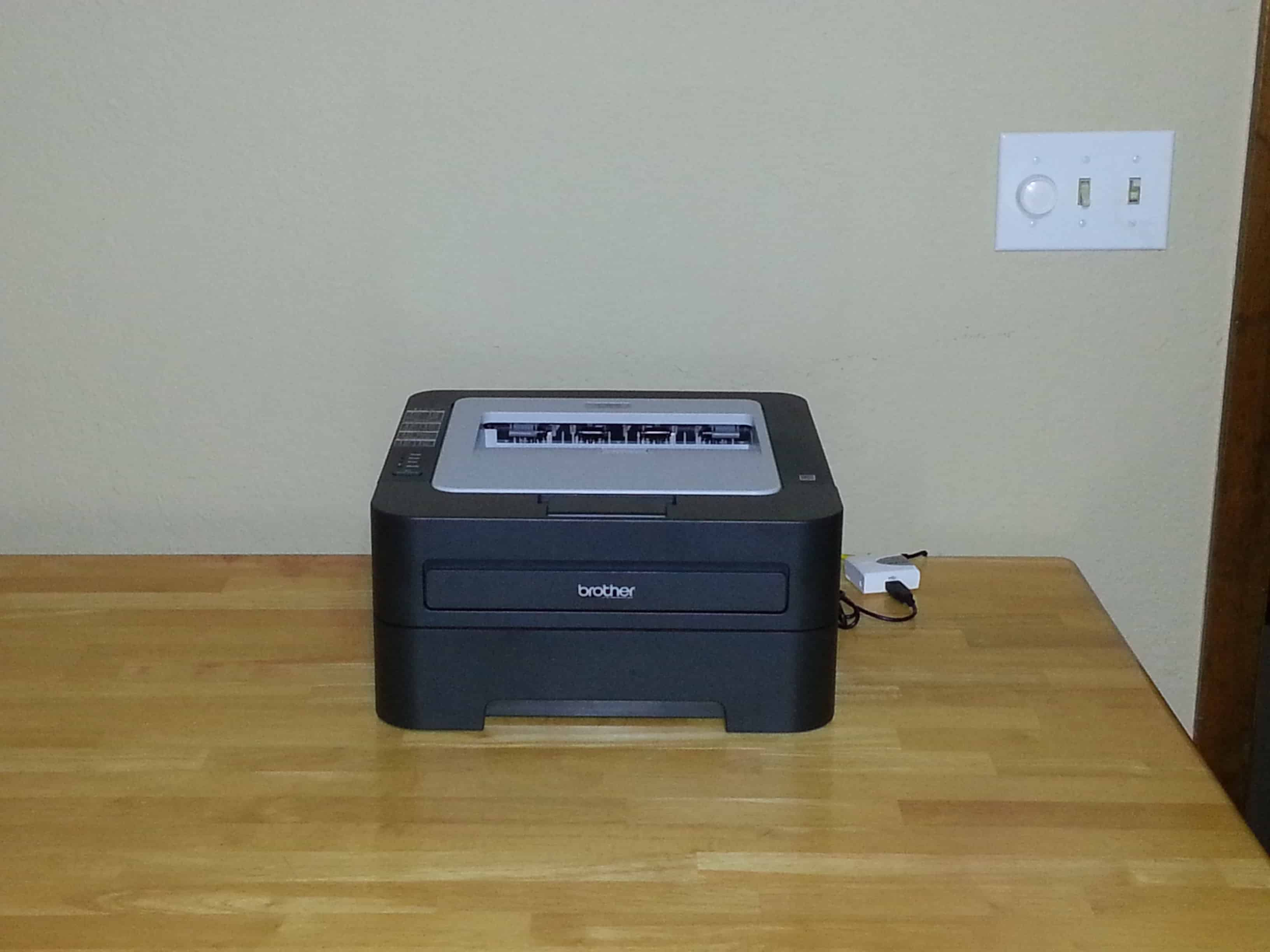 My Network Cupboard: Adding a Networked Printer