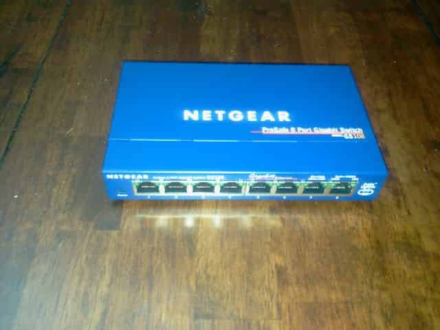 Netgear ProSafe Gigabit Switch GS108