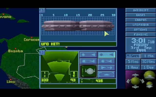 X-COM: UFO Defense UFO Interception