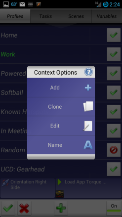 Tasker Adding Addition Profile Context #1