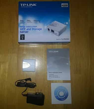 TL-PS310U Print Server Unboxed