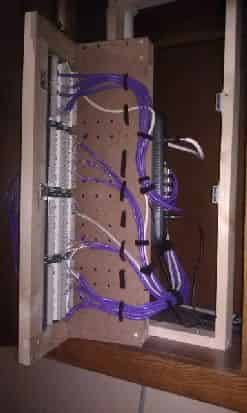 Network Rack in Open Position #2